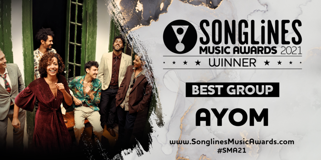 Songlines Best Group award goes to Ayom